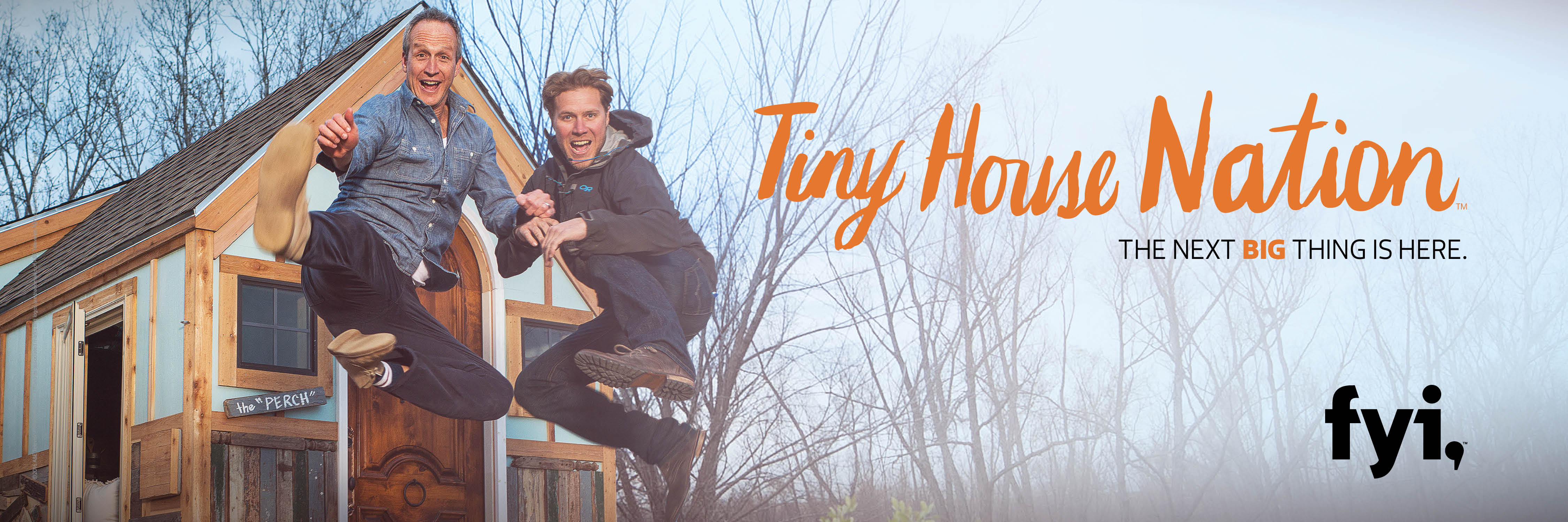 Tiny House Nation Hosts